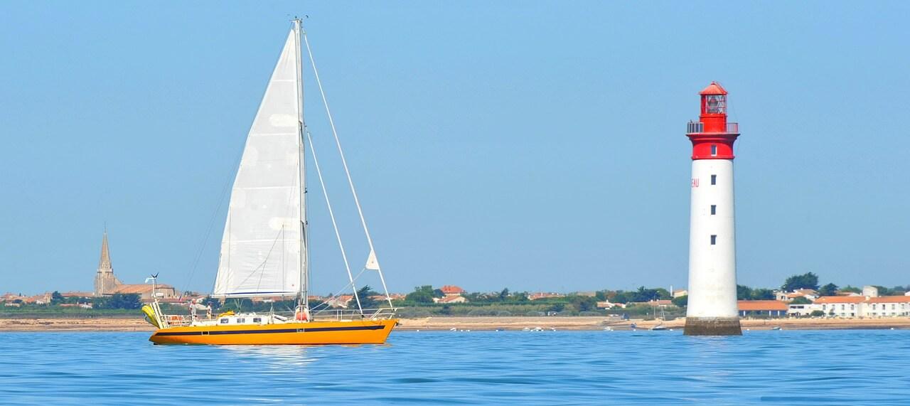 bateau excursion promenade en mer ile de ré oléron